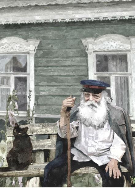 """1. Иллюстрация к роману """"Избранник"""""""